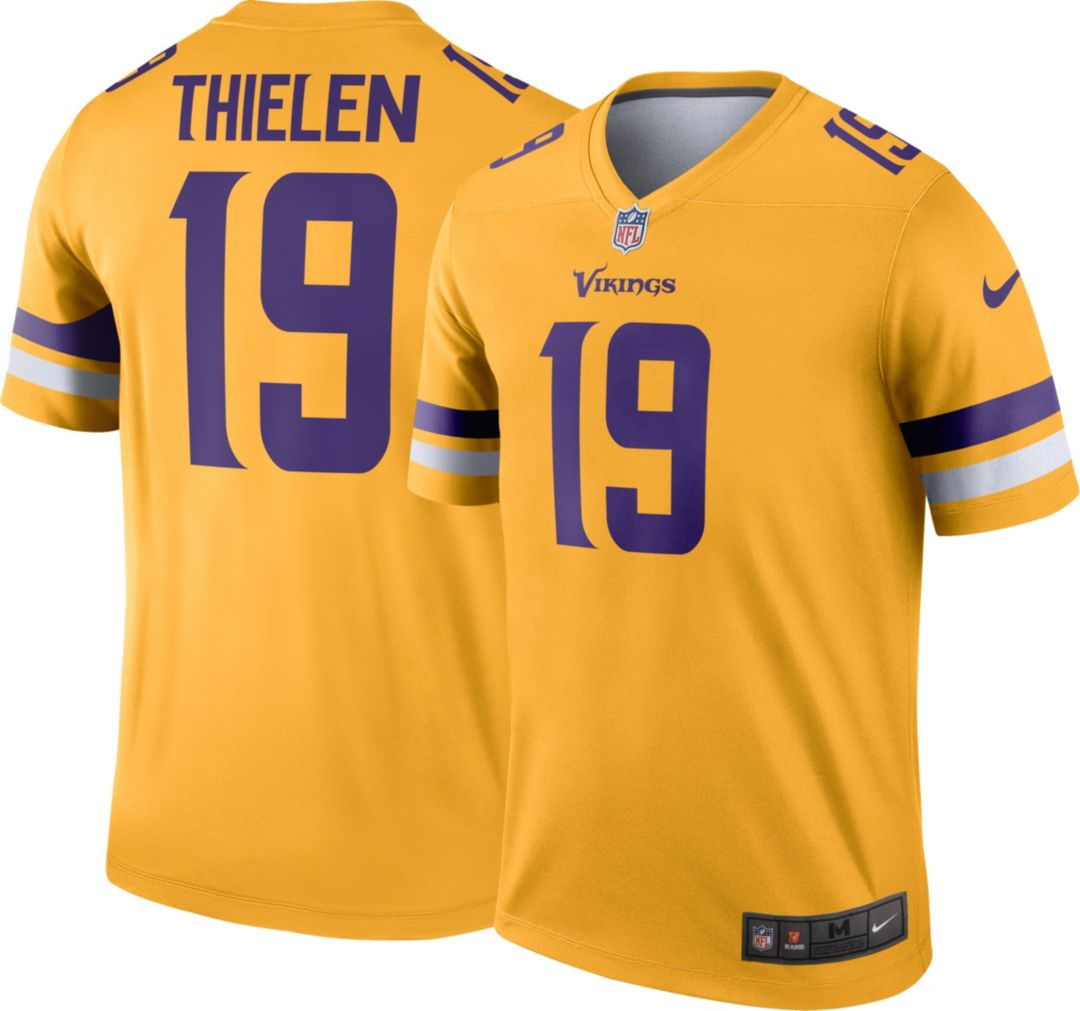 official photos e3fc2 db297 Nike Men's Alternate Legend Jersey Minnesota Vikings Adam Thielen #19
