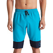 "Nike Men's Perforated Swoosh Breaker 11"" Swim Trunks"