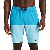 "Nike Men's Split 9"" Volley Swim Trunks"