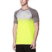 Nike Men's Fade Mist Short Sleeve Hydro Rash Guard