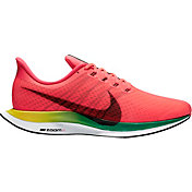 Nike Men's Air Zoom Pegasus 35 Turbo Running Shoes in Red/Black/White