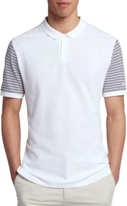 Nike Men's Pique Stripe Golf Polo