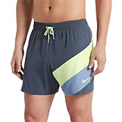 "Nike Men's Optic Camo Mesh Signal 5"" Volley Swim Trunks"
