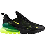 Nike Men's Air Max 270 Shoes in Black/Volt