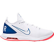 Nike Men's Air Max Wildcard Tennis Shoes in White/Blue/Red