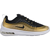 Nike Men's Air Max Axis Shoes in White/Black/Gold
