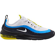 Nike Men's Air Max Axis Shoes in Wht/Wht/Hyp Blue/Blk