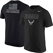 Nike United States Air Force 'I Am An American Airman' Black Short Sleeve T-Shirt