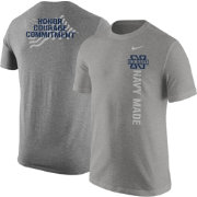 Nike United States Navy 'Navy Made' Grey Short Sleeve T-Shirt
