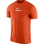 Nike Men's Clemson Tigers Orange Dri-FIT Coach UV Football T-Shirt