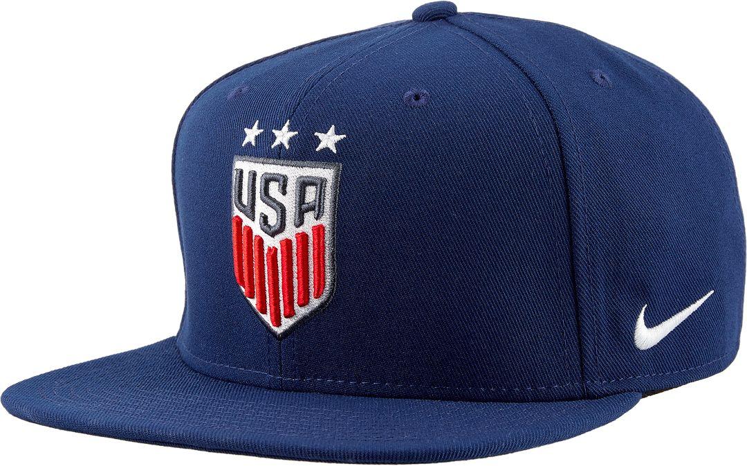 2136bc88 Nike Men's 2019 FIFA Women's World Cup USA Soccer Flat Brim Adjustable  Snapback Hat 1