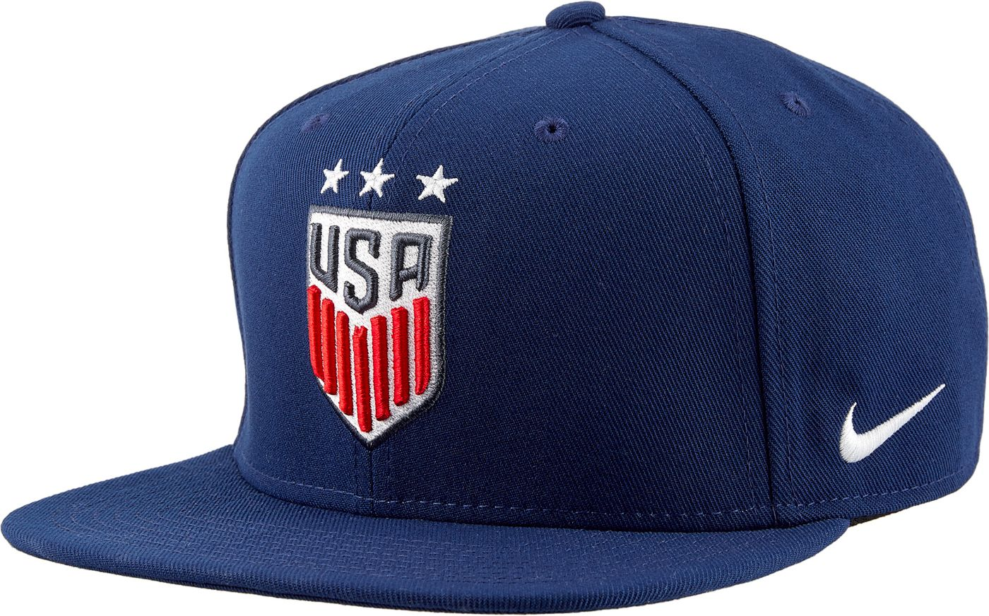 Nike Men's 2019 FIFA Women's World Cup USA Soccer Flat Brim Adjustable Snapback Hat