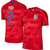 Nike Men's 2019 FIFA Women's World Cup USA Soccer Mallory Pugh #2 Breathe Stadium Away Replica Jersey