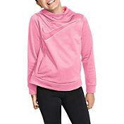 Nike Girls' Therma Shine Graphic Hoodie