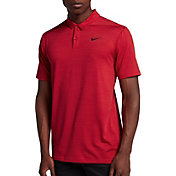 Nike Men's Tiger Woods Dry Stripe Golf Polo