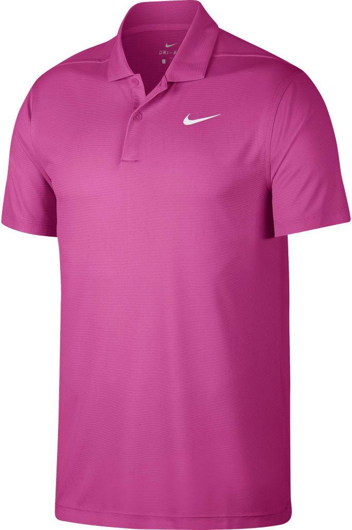 523b16fb2d Nike Men's Victory Texture Golf Polo