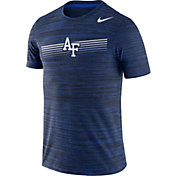 Nike Men's Air Force Falcons Blue Velocity Legend Graphic T-Shirt