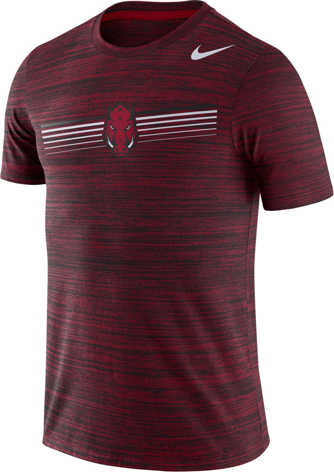 Nike Men's Arkansas Razorbacks Cardinal Velocity Legend Graphic T-Shirt