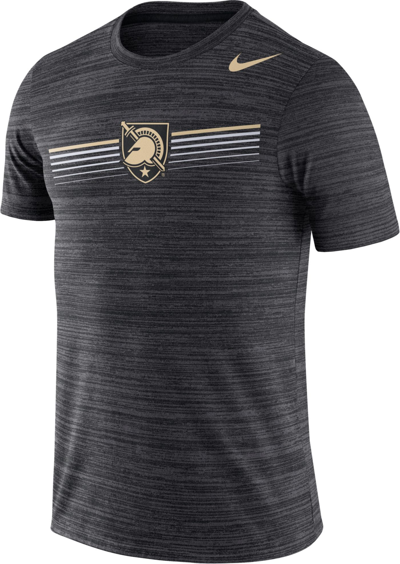 Nike Men's Army West Point Black Knights Army Black Velocity Legend Graphic T-Shirt