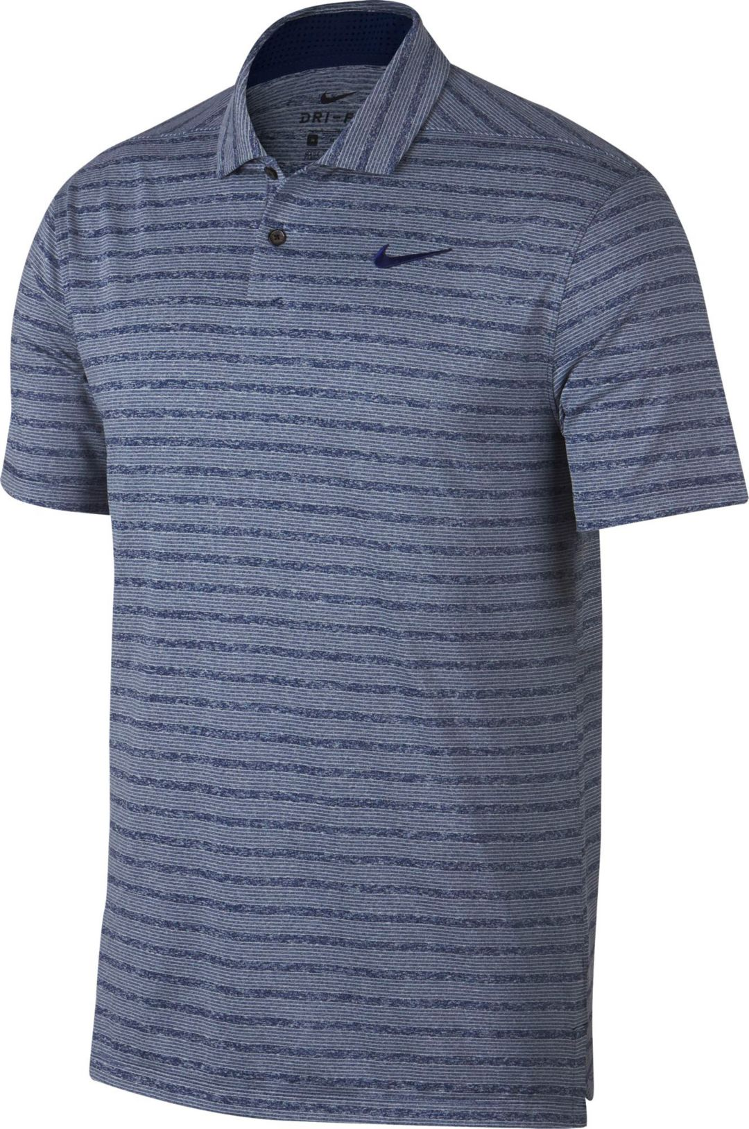 cb5439e0b5765 Nike Men's Vapor Stripe Golf Polo | DICK'S Sporting Goods