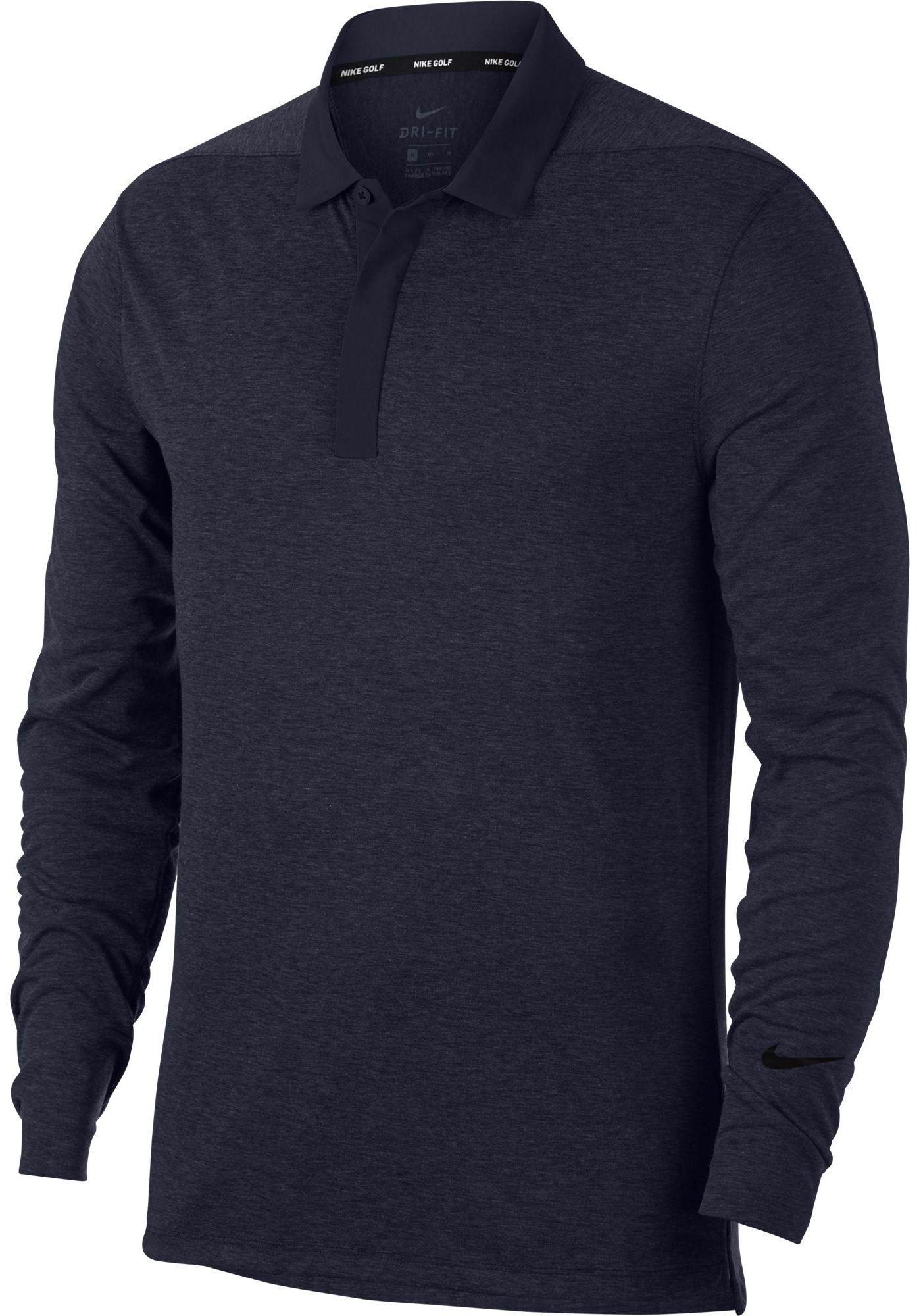 Nike Men's Long Sleeve Golf Polo
