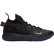6c102a512dc9 Product Image · Nike Zoom KD 11 Basketball Shoes. Black Bright  Crimson Photo Blue