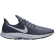 Nike Men's Air Zoom Pegasus 35 Running Shoes in Grey/White