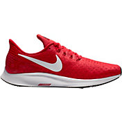 Nike Men's Air Zoom Pegasus 35 Running Shoes in Red/White/Black