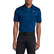 Nike Men's Zonal Cooling Camo Golf Polo