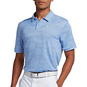Nike Men's Zonal Cooling Camo Golf Polo