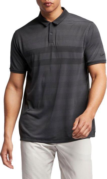 Nike Men's Zonal Cooling Stripe Golf Polo