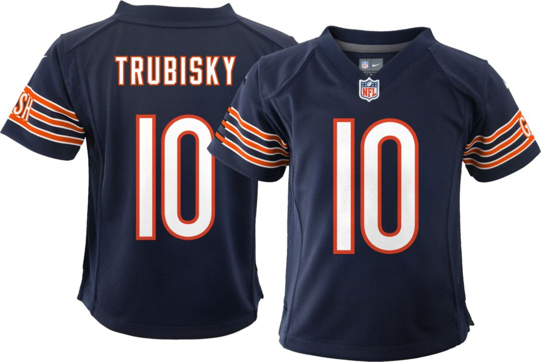 reputable site a3a91 375fd Nike Toddler Home Game Jersey Chicago Bears Mitchell Trubisky #10