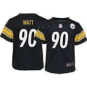 Nike Toddler Pittsburgh Steelers T.J. Watt #90 Black Game Jersey