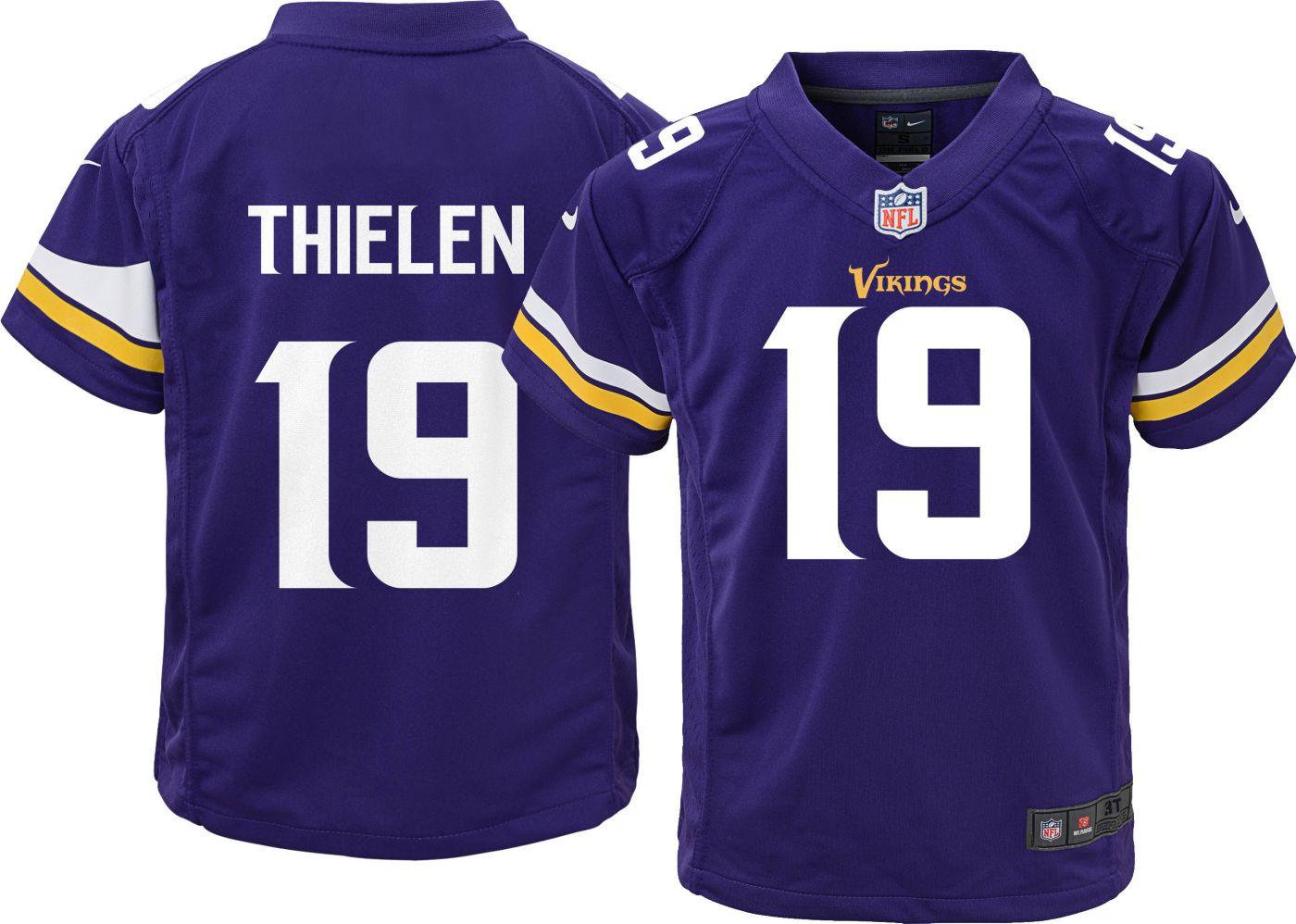 Nike Toddler Home Game Jersey Minnesota Vikings Adam Thielen #19