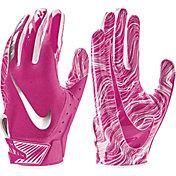 Nike Adult Vapor Jet 5.0 Breast Cancer Awareness Receiver Gloves 2018