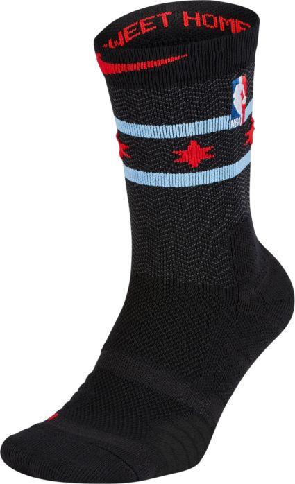 88dc9cef4 Nike Chicago Bulls City Edition Elite Crew Socks. noImageFound