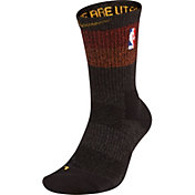 Nike Utah Jazz City Edition Elite Crew Socks
