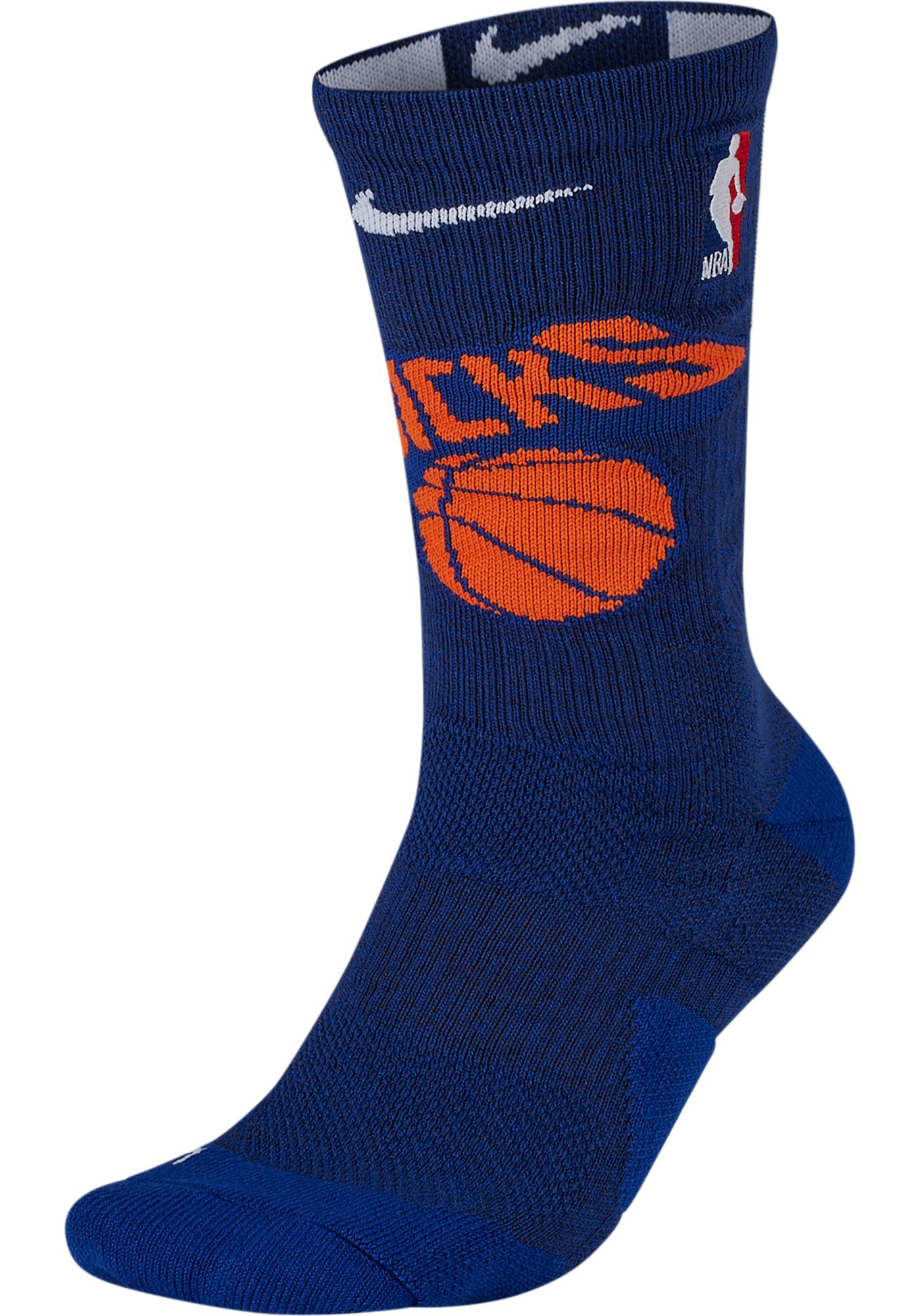 Nike New York Knicks Elite Crew Socks