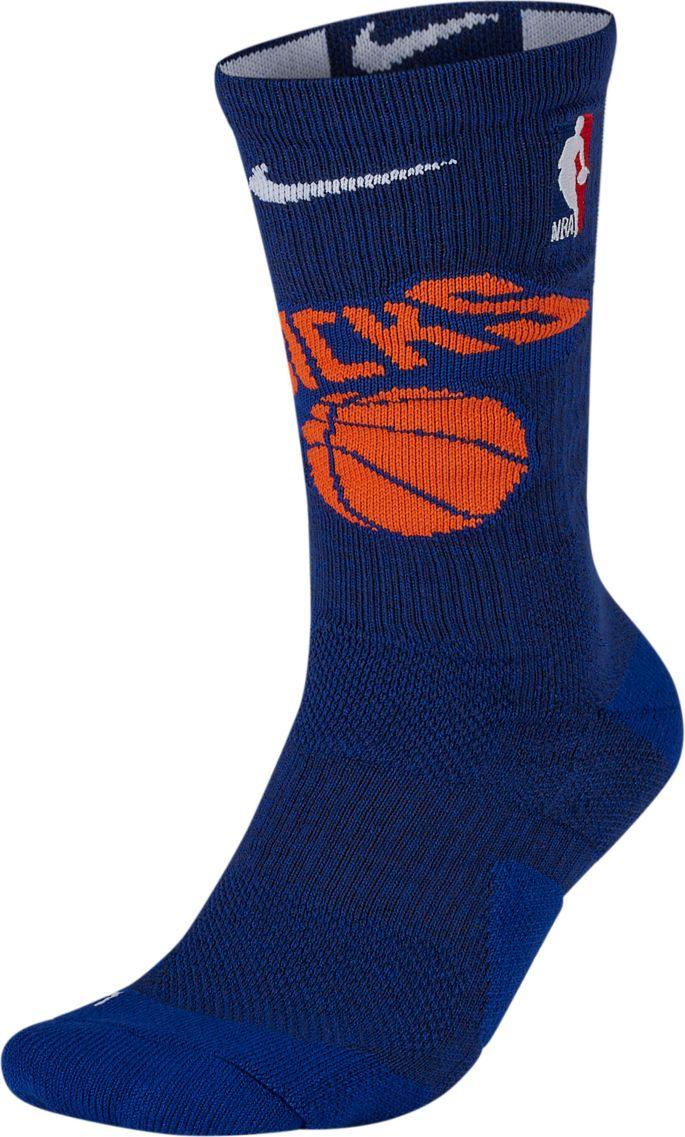 Nike New York Knicks Elite Crew Socks | DICK'S Sporting Goods