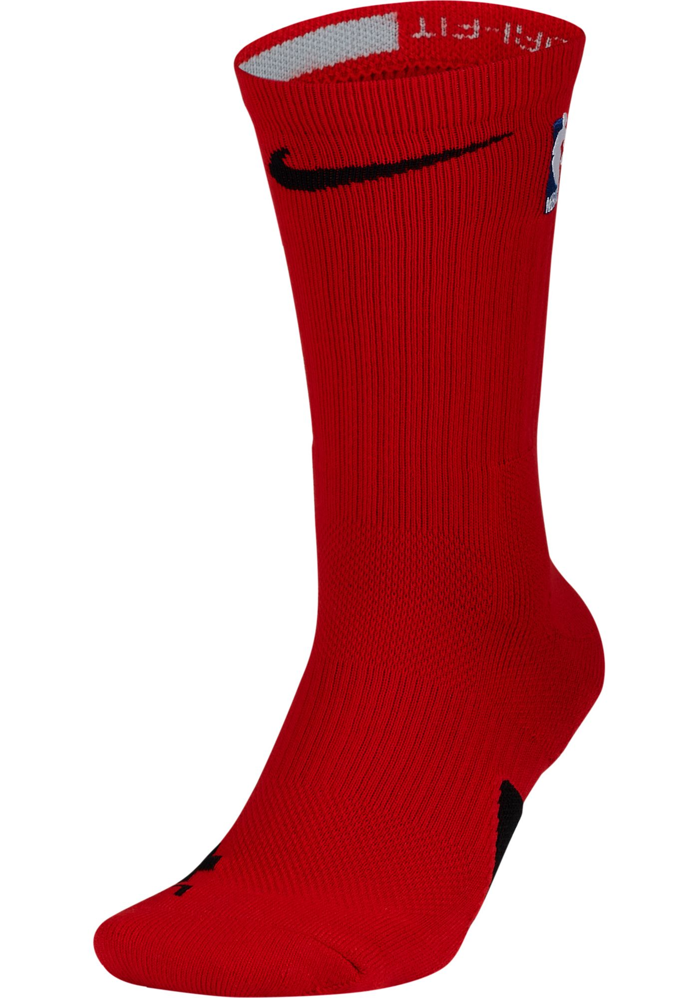 Nike NBA League Red Elite Crew Socks