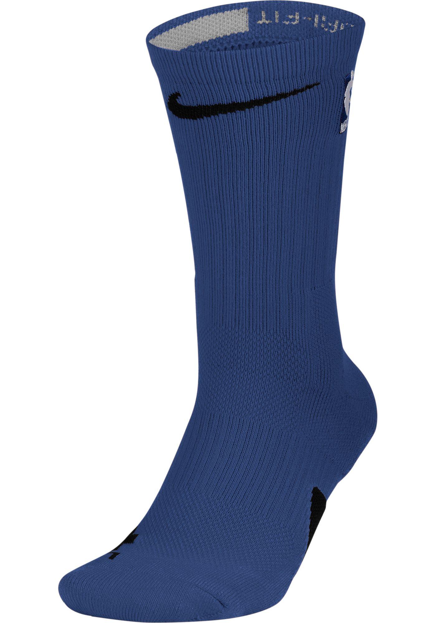 Nike NBA League Dark Blue Elite Crew Socks