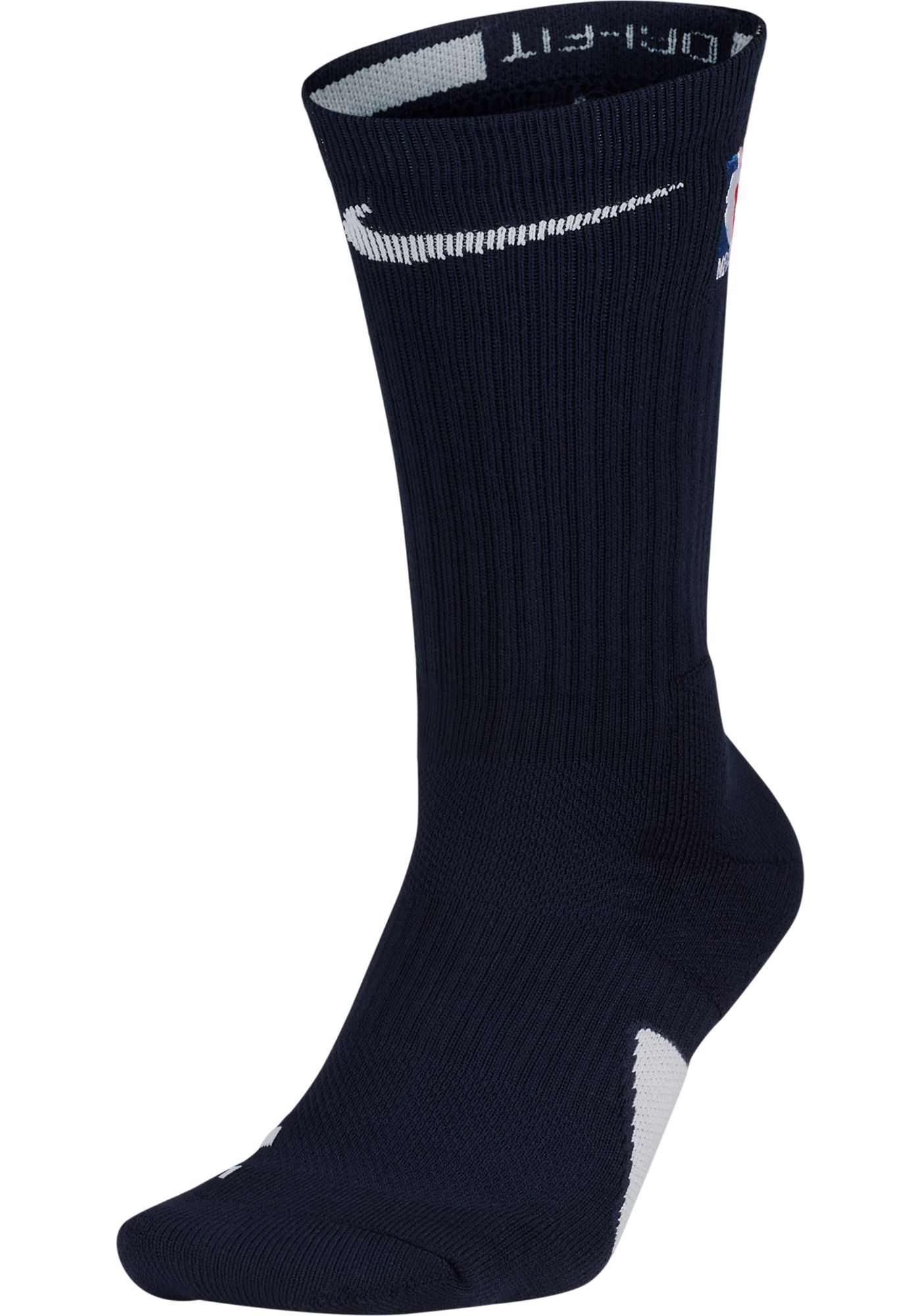 Nike NBA League Navy Elite Crew Socks