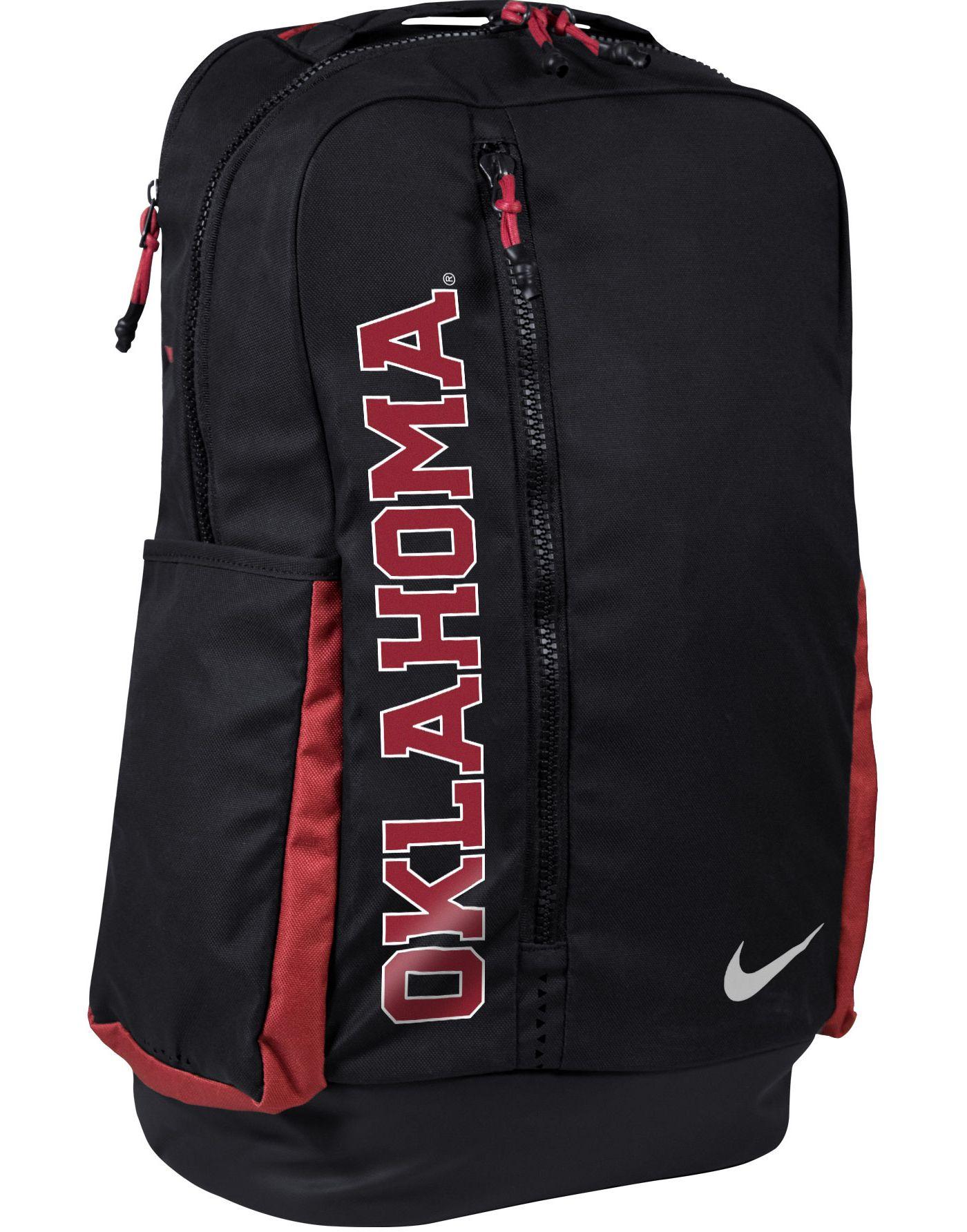 Nike Oklahoma Sooners Vapor Power Backpack