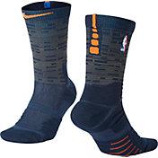 Nike New York Knicks City Edition Elite Quick NBA Crew Socks