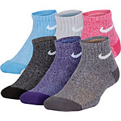 Nike Kids' Training Quarter Socks 6 Pack