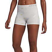 Nike Women's 3'' Metallic Pro Shorts