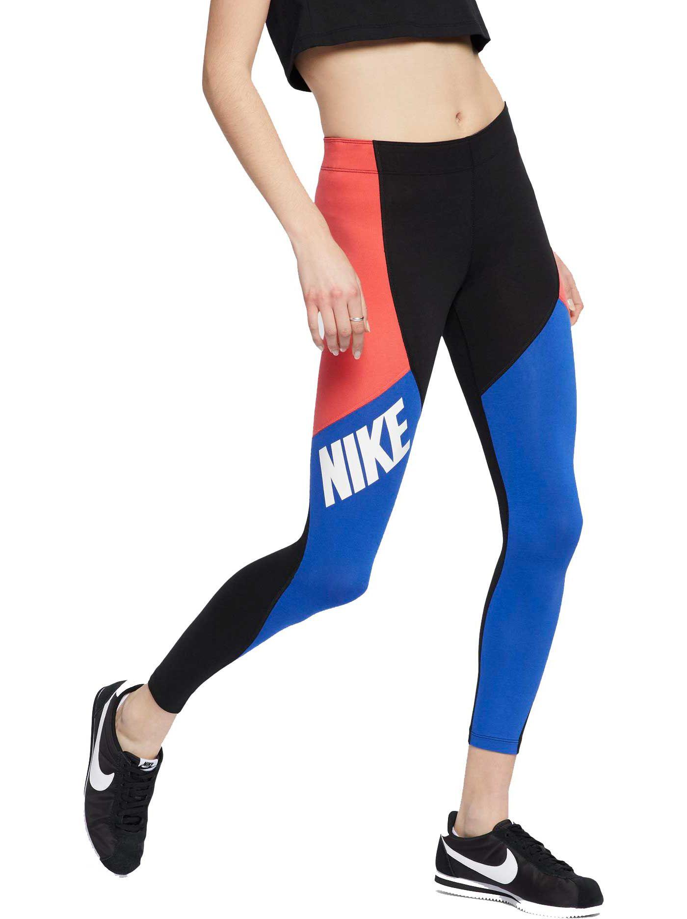Nike Women's Colorblock Leg-A-See Leggings