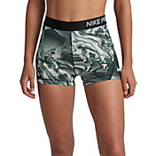 Nike Women's Pro Coral Printed 3'' Shorts