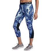 Nike Women's Pro Coral Printed Training Capris