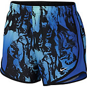 Nike Women's Dry Coral Printed Tempo Shorts